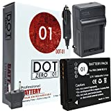 dot-01 Brand 1800 mah Replacement Leica bp-dc 10 Battery and Charger for Leica d-lux 5 Digital Camera and Leica bpdc10