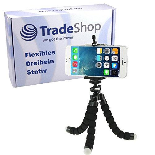 Flexibles Kamerastativ Universal Dreibeinstativ Tripod/Stativ Standard-Stativgewinde für Kompaktkameras Digitalkamera Leica Fujifilm Kodak Medion Rollei Sigma Practica Casio