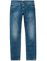 Carhartt Jeans pour Homme Vicious Pant – Blue Rope Washed