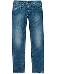 Carhartt Jeans pour Homme Vicious Pant–Blue Rope Washed