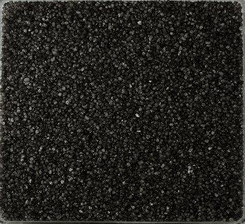 Perlkies, Farbsand 0,5 KG SCHWARZ