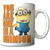 Despicable me one in a minion mug coffee tea cup