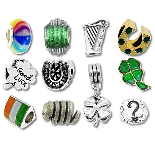 Charms kompatibel mit Pandora Armbändern (Saint Patricks Day Handwerk)