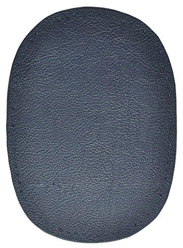 alles-meine.de GmbH 1 Stk. Nappa - echtes Leder Flicken - dunkel blau - 10 cm * 13 cm - oval -...