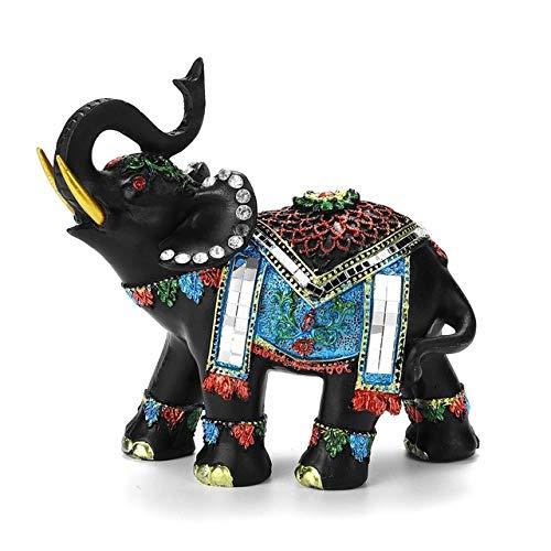 Link Boy Kostüm - REDHAPYLI Elefant Harz Dekoration für Wohnkultur Figuren Handwerk für Kaffee Bar Elefant Biegen Sie rechts/Links Kunst und Handwerk Dekoration