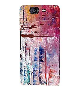 Abstract Art Pattern 3D Hard Polycarbonate Designer Back Case Cover for Micromax Canvas Knight A350