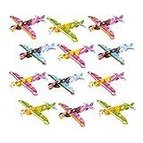 12x Styropor Flieger Feen Flieger für Kinder Geburtstag | Feen Party | Mitgebsel | Kinder Mitbringspiel | Gleitflugzeuge Mitbringsel | Spiel Paket von Party Pack