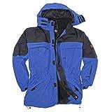 3in1 Jacke Davos in Übergröße bis 10XL blau, Größe:6XL