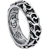 Anillo de idioma antiguo anillo de hombres personalizados anillo único