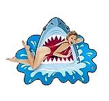Bigmouth Strandtuch Hai Shark Attack Handtuch Stranddecke Haituch Laken ca 150 x 120 cm
