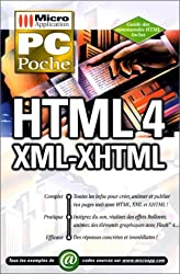 PC poche HTML 4, XML, XHTML