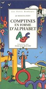 """Afficher """"Comptines en forme d'alphabet"""""""
