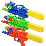TOYMYTOY 33cm puissant pompe action pistolets à eau pour enfants enfants 3 pcs