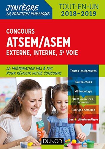 Concours ATSEM/ASEM - Externe, interne, 3e voie - 2018-2019 - Tout-en-un par Corinne Pelletier