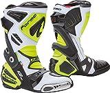 Forma Ice Pro Flow Motorradstiefel Weiß/Gelb 43