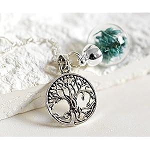 925er Keltischer Lebensbaum Silber Kette