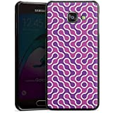 Samsung Galaxy A3 (2016) Housse Étui Protection Coque Lilas Rose vif Motif