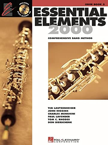 Essential Elements, Book 2 - Oboe - Bk+CD