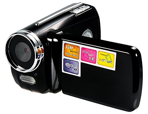 Makibes Dv139 1.8 Inch Tft Screen 12.0Mp Mini Hd Dv Digital Video Camera 4X Digital Zoom With Microphone (Black)