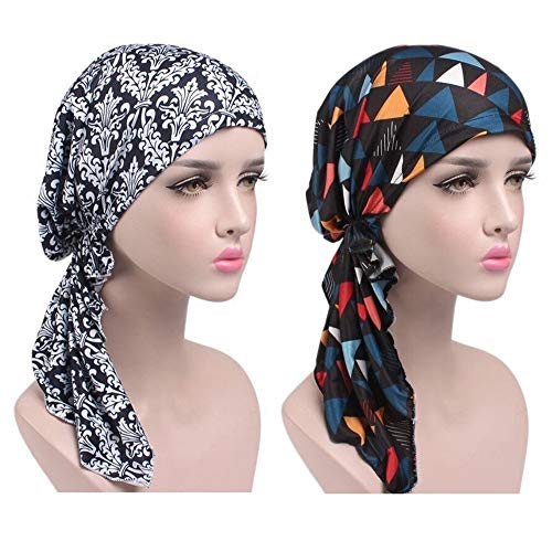 EINSKEY EINSKEY Kopftuch Damen Chemo, Elegant Turban Hijab für Krebs, Chemotherapie, Haarausfall, Schlaf, Muslim