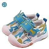 DRAULIC Baby - Zapatos primeros pasos para niño Q Blau 21 Meter