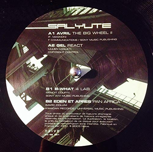 Frankreich-gel (Avril, Gel, B-What, Eden et AprÞs [Vinyl Single])