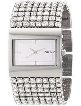 DKNY Damen-Armbanduhr Analog Quarz Edelstahl NY4661