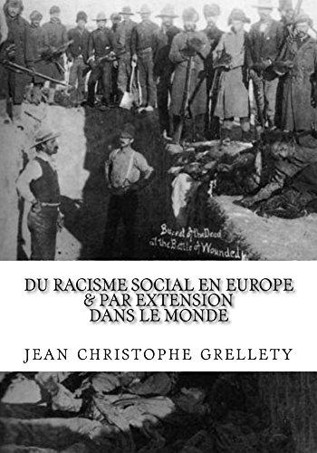 Couverture du livre Du racisme social en Europe: et par extension dans le monde