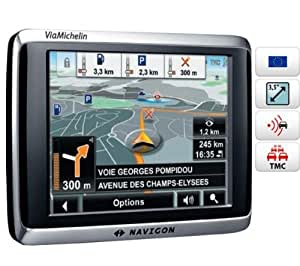 "Navigon 2510 Explorer GPS Europe 23 pays Ecran 3,5"" TMC Premium"