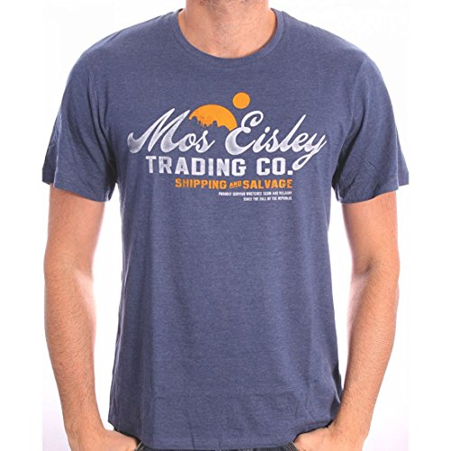 Star Wars - Herren Premium T-Shirt - Mos Eisley Trading Co (Navy) (S-XL) (XL)