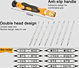 #5: PagKis Screwdriver set for opening repairing gaming controllers and various mobiles, laptops with tempered proof T8 / T9 Security hole screwdrivers