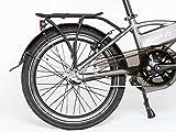 ENIK E-Bike Klapprad »SNAP-IN 20«, 20 Zoll, 3 Gang, Frontmotor, 317 Wh - 5