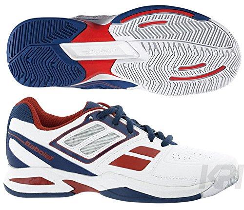 Babolat–erweitert Team Jr BLC RG–Schuhe Tennis weiß - weiß