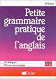 Image de PETITE GRAMMAIRE PRATIQUE DE L'ANGLAIS. Edition 1996