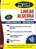 #5: SCHAUM'S OUTLINE OF LINEAR ALGEBRA