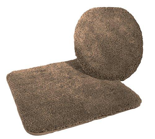 badematten set 4 teilig badematten set lasalle in taupe. Black Bedroom Furniture Sets. Home Design Ideas