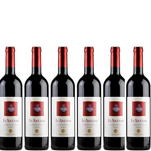 6 bottiglie per 0,75l -IS ARENAS - CARIGNANO DEL SULCIS DOC