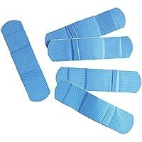 Detektierbare-Wund-Strips, Pflasterstrips, Pflaster, X-RAY in blau, wasserabweisend, 100 Stück einzeln versiegelt... preisvergleich bei billige-tabletten.eu