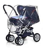 Reer PEVA Universal-Regenschutz,  für Kinderwagen, Sportwagen, Buggys