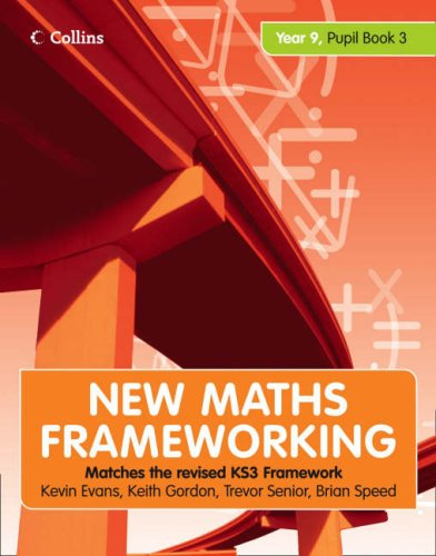 New Maths Frameworking - Year 9 Pupil Book 3 (Levels 6-8): Pupil (Levels 6-8) Bk. 3