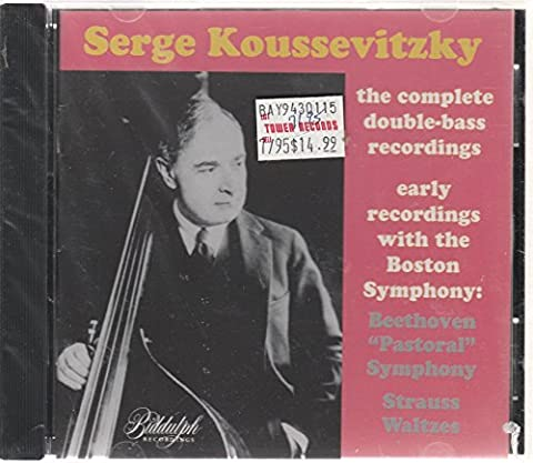 Koussevitzky - Double Bass Recordings and Early Boston Symphony Orchestra