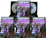 Maxell Mini DVD+RW wiederbeschreibbare Medien in Slim Case (16 Scheiben von 8cm DVD+RW) für DVD-Camcorder oder allgemeine Datenspeicherung