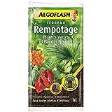 ALGOFLASH Terreau Rempotage Plantes vertes et plantes fleuries - 6 L