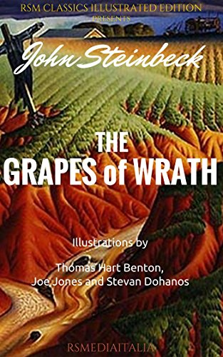 Buchseite und Rezensionen zu 'The Grapes of Wrath (RSMediaItalia Classics Illustrated Edition)' von John Steinbeck