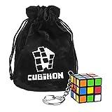 Cubikon Zauberwürfel Original Rubik's Cube Schlüsselanhänger - inkl Tasche