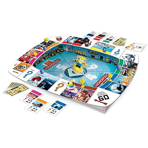 Image of Monopoly Despicable Me 2 Board Game