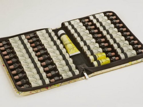 Homöopathie Taschenapotheke für 40 Bachblüten 20 ml (unbefüllt)