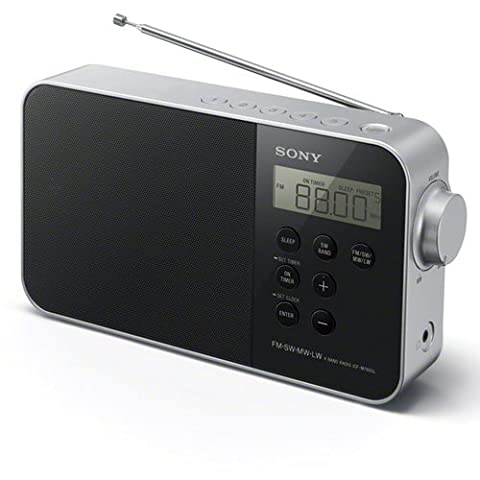 Radio Sony Icf - Sony ICF-M780SLB Radio Portable Digitale FM/SW/MW/LW -