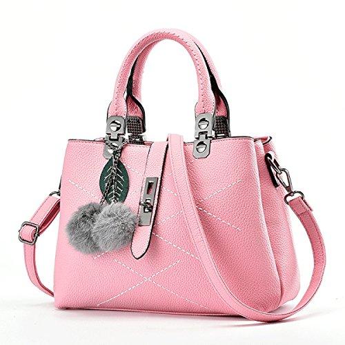 WU Zhi Ms. Mao Ball Semplici Borse Pacchetto Diagonale Pink