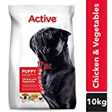 Active Chicken And Vegetable Puppy Dog Food, 10 Kg